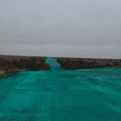 Large Crude Pipeline Reclamation 44 Miles Hydroseeding Native Grass 500 Acres