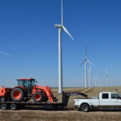 Windfarm and Wind Turbine Access Roads, Landfill and Solid Waste Daily Cover, Right of Way (ROW) Clearing and Seeding, Utility Tie In, Temporary Seeding, Dust Protection, Erosion Control Services