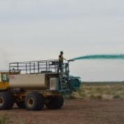 Challenger Construction Off Road Hydroseeding Truck